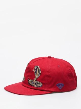 Czapka z daszkiem Diamond Supply Co. Cobra ZD (red)