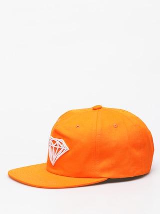 Czapka z daszkiem Diamond Supply Co. Brilliant ZD (orange)