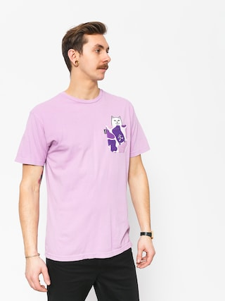 T-shirt RipNDip Lord Nermal Camo Pocket (purple camo)
