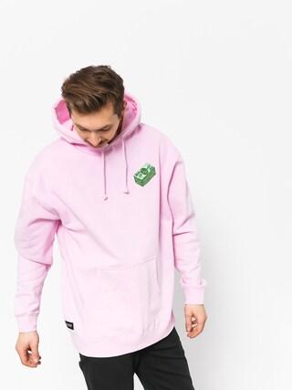 Bluza z kapturem RipNDip Money Talks HD (light pink)