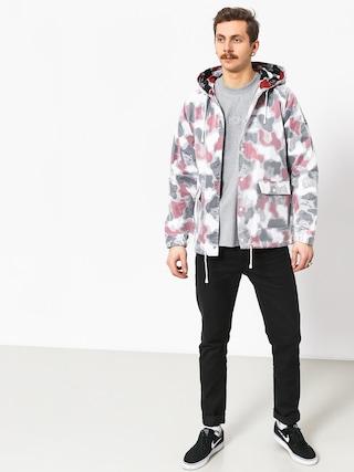 Kurtka RipNDip Nerm Psycho Clear Rain Coat (red camo)