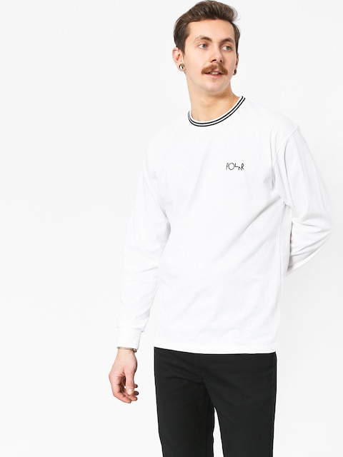 Longsleeve Polar Skate Striped Rib