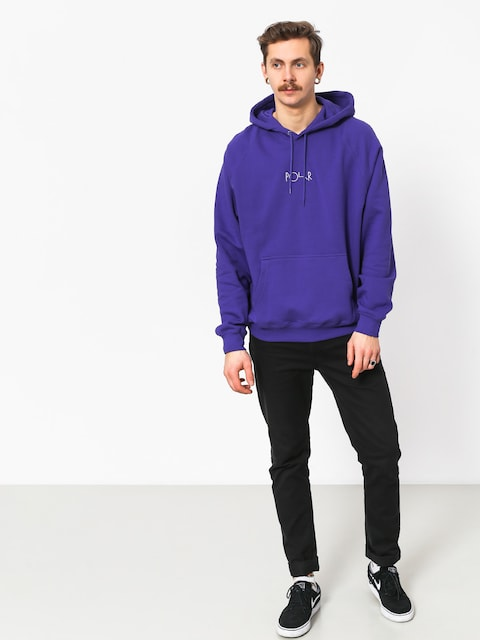 Bluza z kapturem Polar Skate Default HD (deep purple)