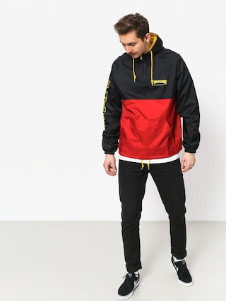 Kurtka Thrasher Mag Logo Anorak (black red)