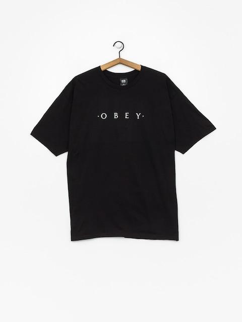 T-shirt OBEY Novel Obey (black)