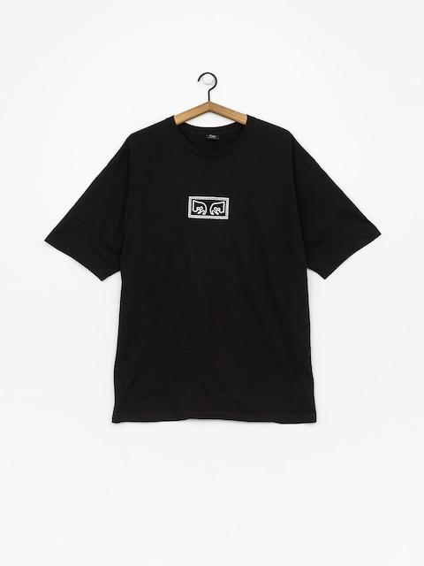 T-shirt OBEY Obey Jumbled Eyes (black)
