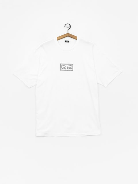 T-shirt OBEY Obey Jumbled Eyes (white)