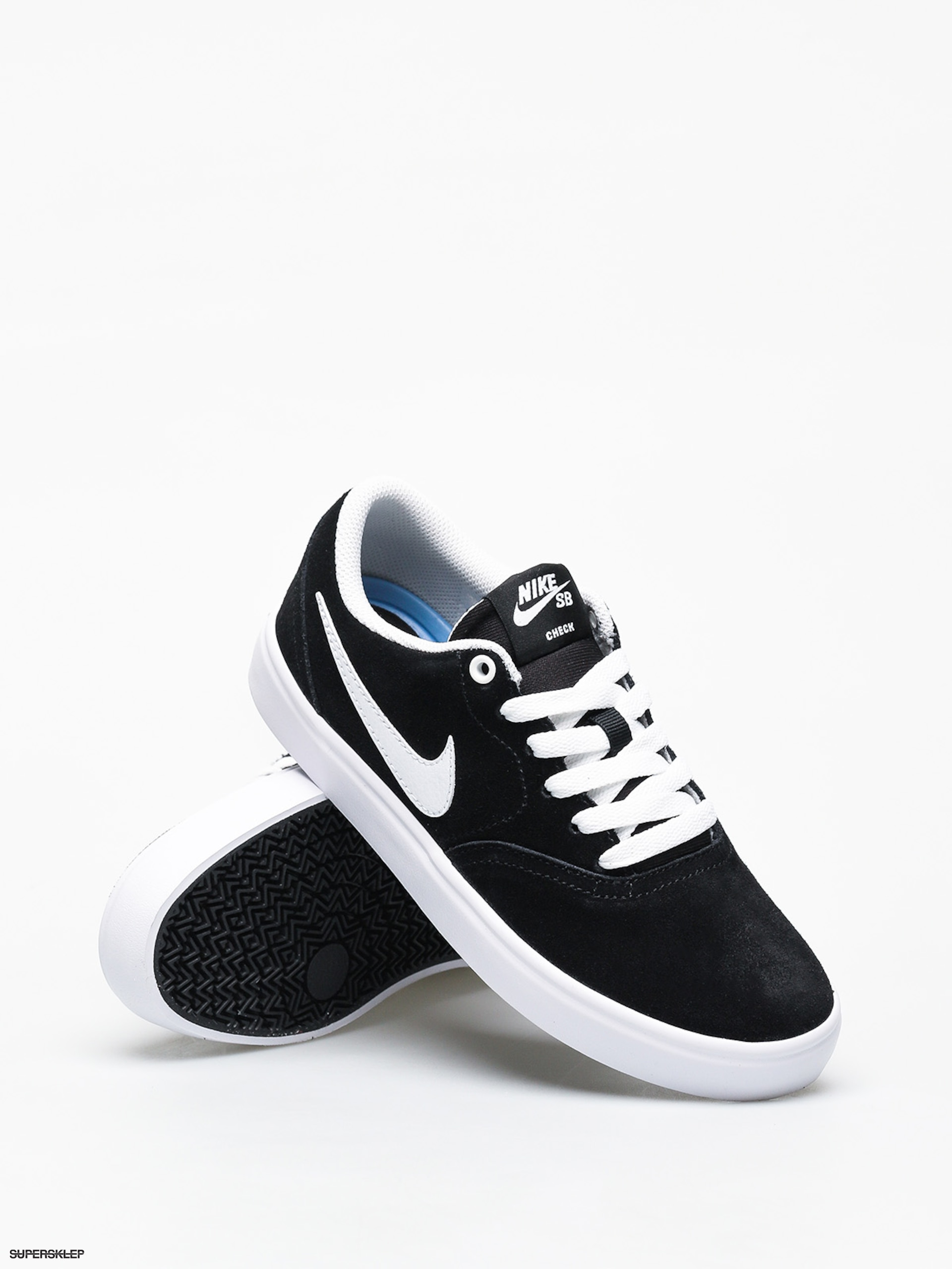 Buty Nike SB Check Solar Wmn (blackwhite)