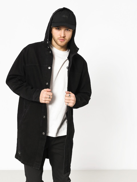 Płaszcz The Hive Denim Parka Coat (black)