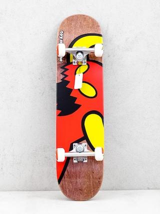 Deskorolka Toy Machine Vice Monster (brown/red)