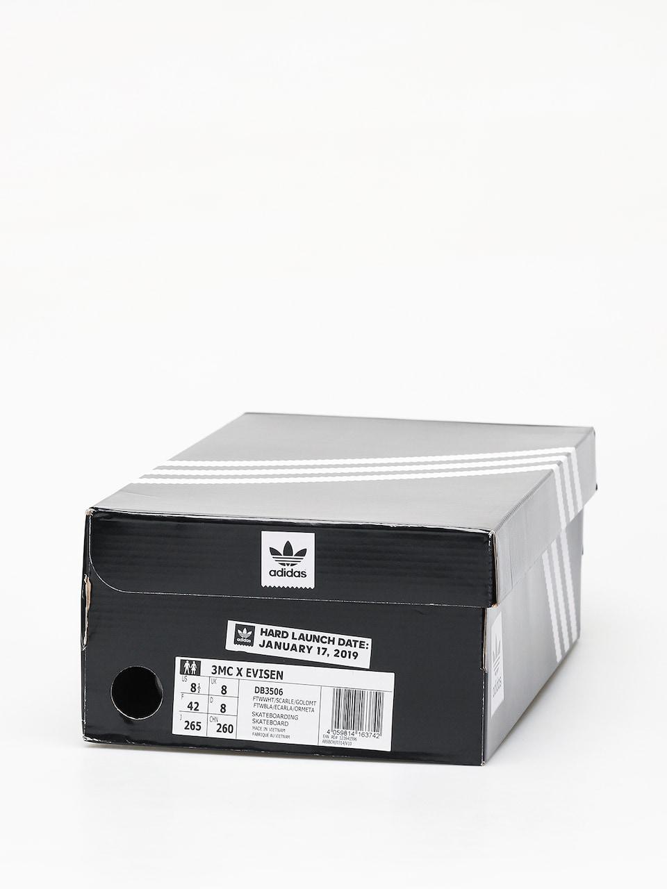 Buty adidas 3Mc X Evisen (ftwwhtscarlegoldmt)