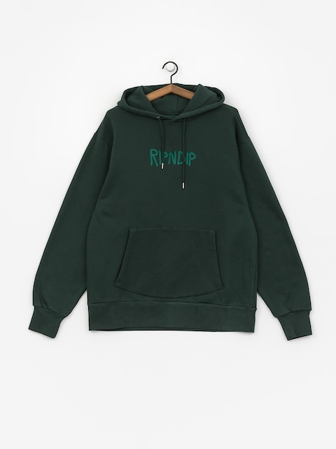 Bluza z kapturem RipNDip Rugger Logo HD (hunter green)