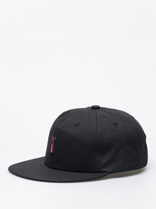 Czapka z daszkiem Diamond Supply Co. Fasten 6 Panel (black)