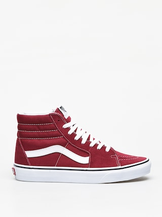 Buty Vans Sk8 Hi (rumba red/true white)