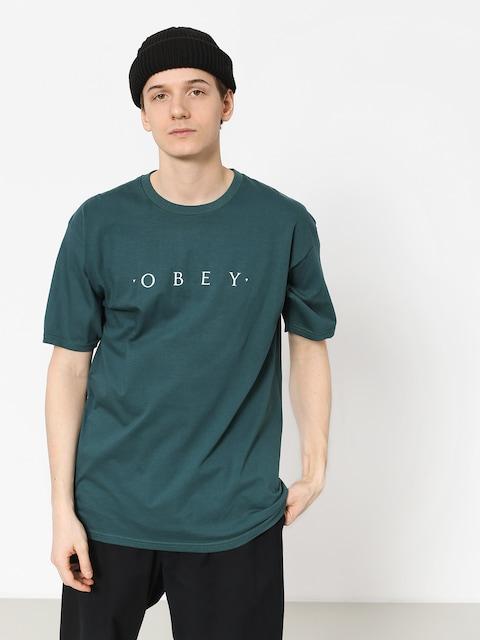 T-shirt OBEY Novel Obey (pine)