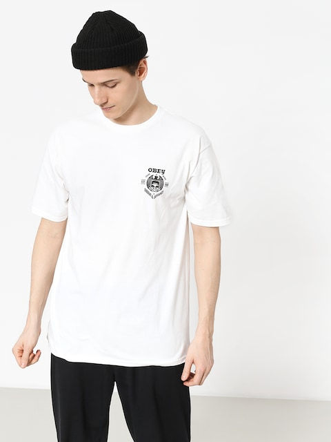 T-shirt OBEY Obey Dissent & Defiance Eagle (white)