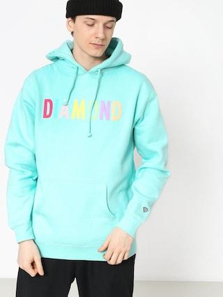 Bluza z kapturem Diamond Supply Co. Colour Pop HD (mint)