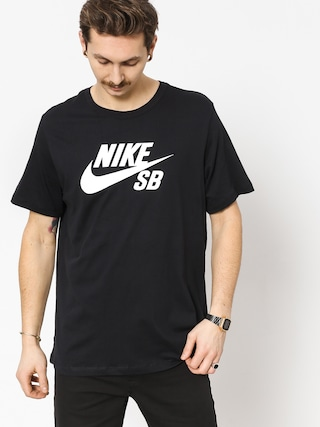 T-shirt Nike SB Sb Dri Fit (black/white)