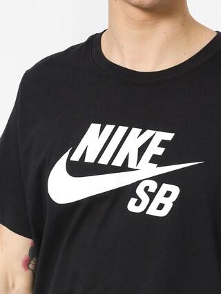 T-shirt Nike SB Sb Dri Fit (black/white)