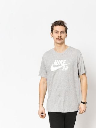 T-shirt Nike SB Sb Dri Fit (dk grey heather/white)