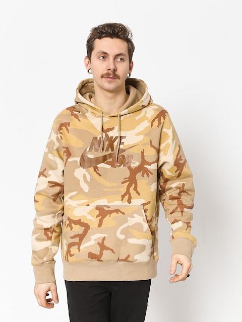 Bluza z kapturem Nike SB Sb Icon Erdl HD (desert ore/parachute beige/ale brown)