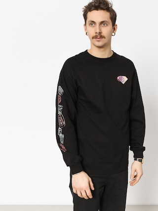Longsleeve Diamond Supply Co. Trotter Passport (black)