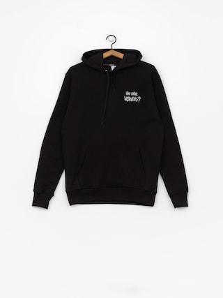 Bluza z kapturem Nervous Sigil Racoon HD (black)