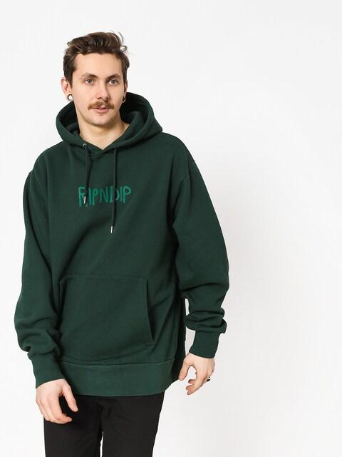 Bluza z kapturem RipNDip Rugger Logo HD (hunter green)