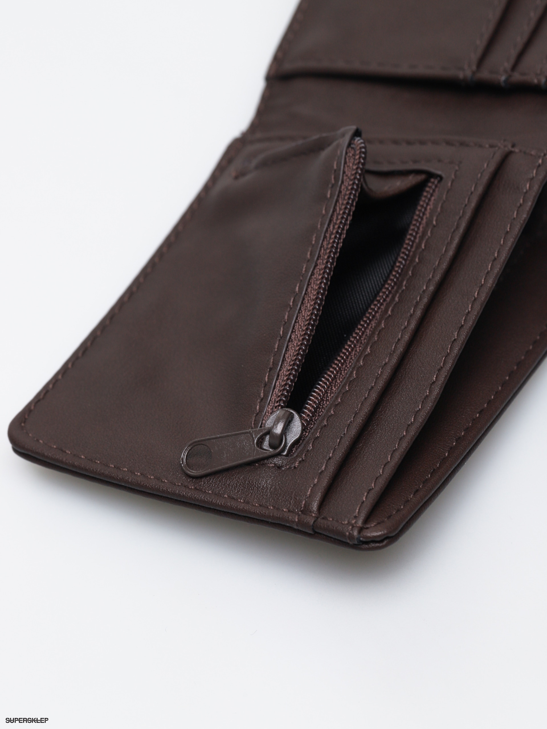 aa62f3aea93fb Portfel Vans Drop V Bifold (dark brown)