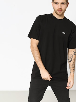 T-shirt Vans Left Chest Logo (black/white)
