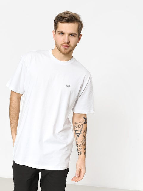 T-shirt Vans Left Chest Logo (white/black)
