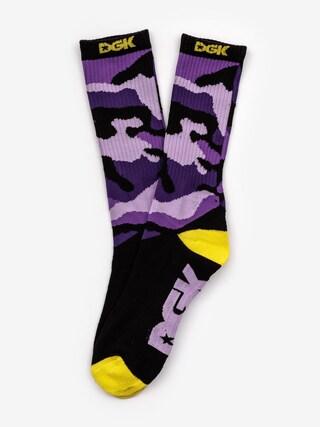 Skarpetki DGK Crew Sock Pair (purple)