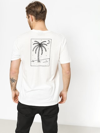 T-shirt Brixton Oasis Pkt (off white)