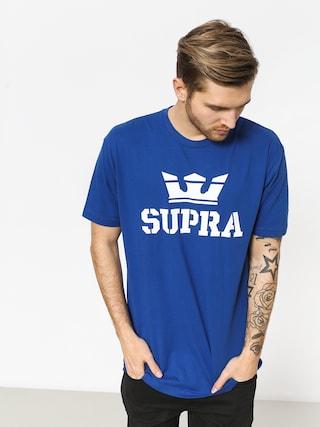 T-shirt Supra Above Reg (ocean/white white)