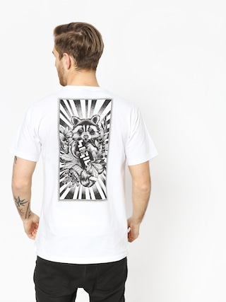 T-shirt Nervous Sigil Racoon (white)