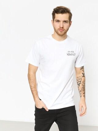 T-shirt Nervous Sigil Racoon (white)