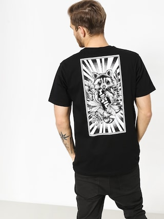 T-shirt Nervous Sigil Racoon (black)