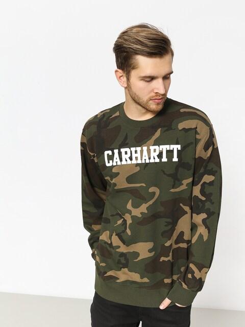 Bluza Carhartt WIP College (camo laurel/white)