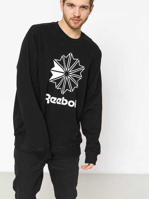 Bluza Reebok Ac Ft Big Starcrest Crew (black/white)