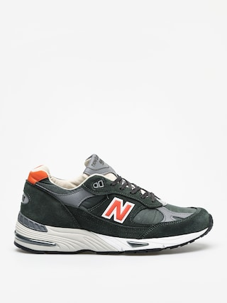 Buty New Balance 991 (green/orange)