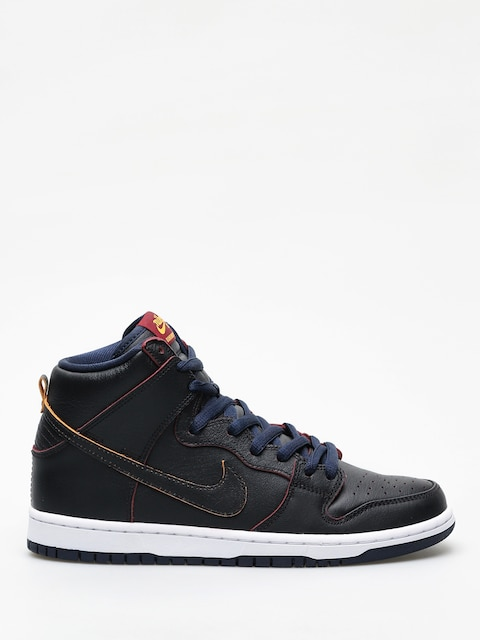 Buty Nike SB Dunk High Pro Nba (black/black college navy team red)