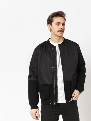 Kurtka Diamond Supply Co. Stadium Bomber Jacket (black)