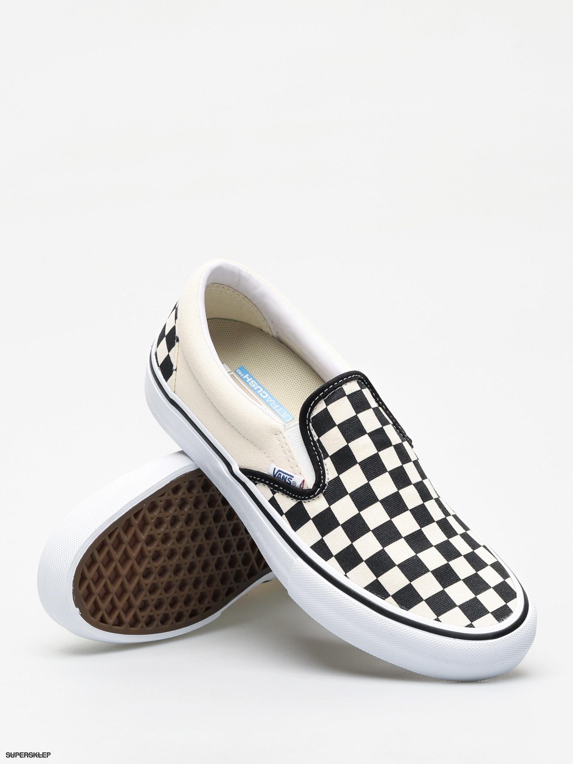 Buty Vans Slip On Pro (checkerboardblackwhite)