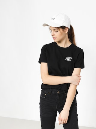 T-shirt Vans Full Patch Crew Wmn (black)