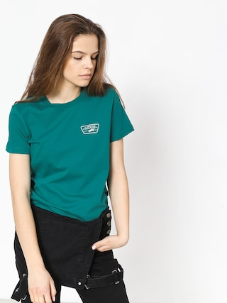 T-shirt Vans Full Patch Crew Wmn (quetzal)
