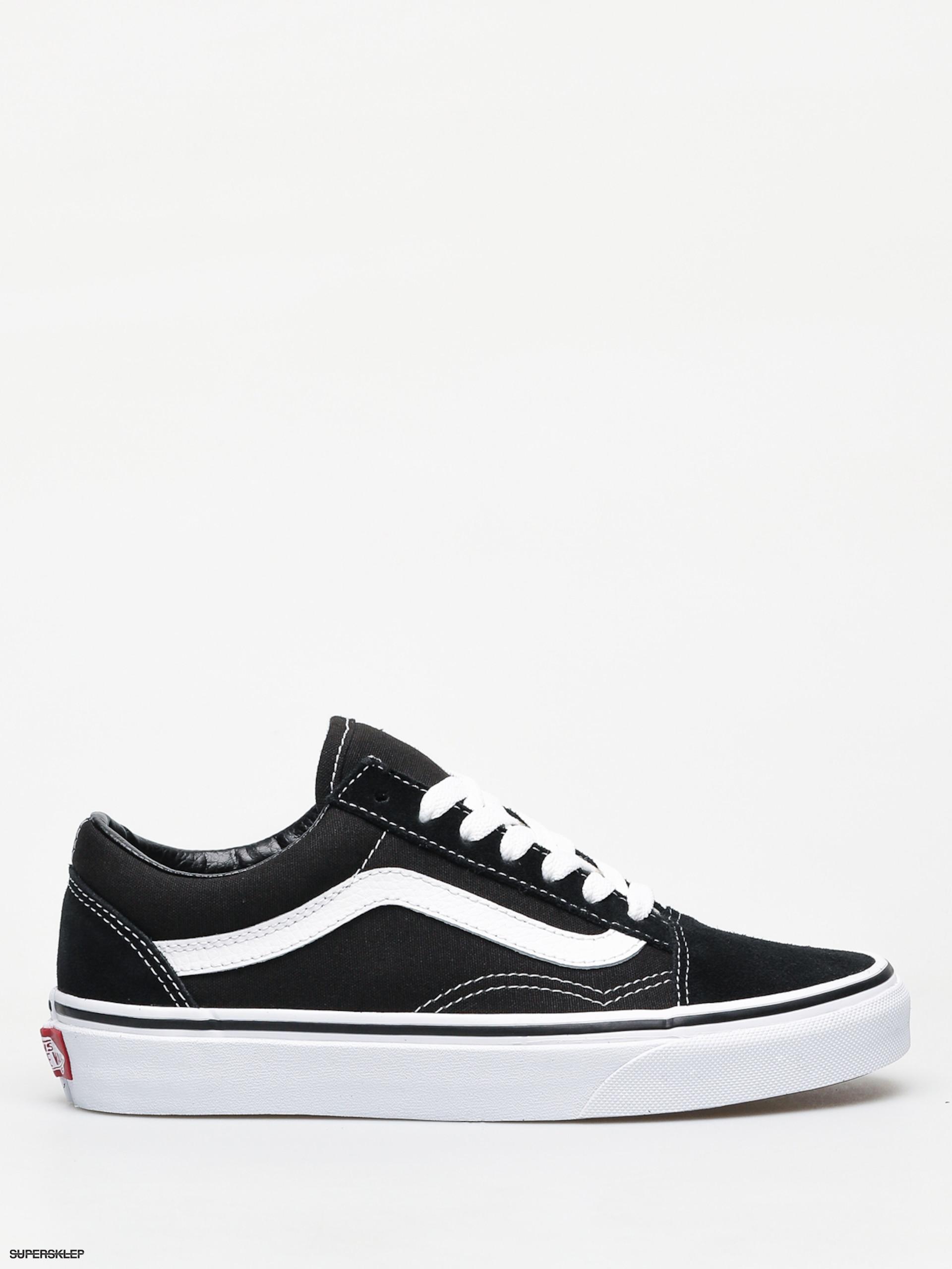 Vans Old Skool Skate Shoe Black | Journeys