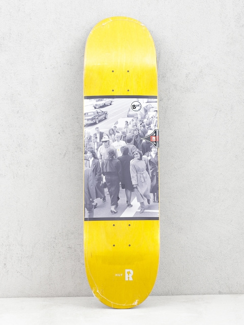 Deck Real Brd Huf Standout (yellow)