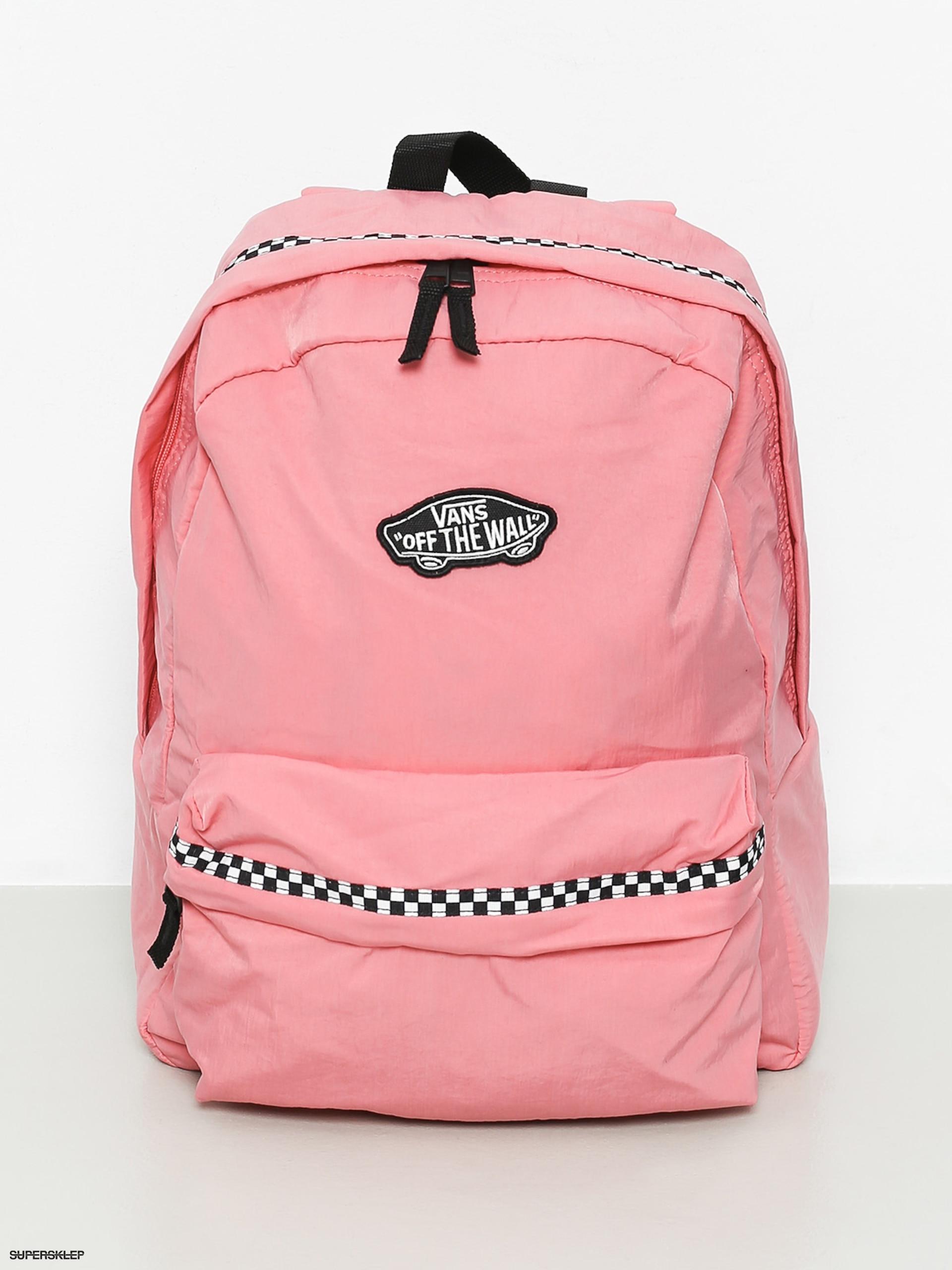 5b12c0d0d31eb Plecak Vans Expedition II Wmn (strawberry pink microcheck)