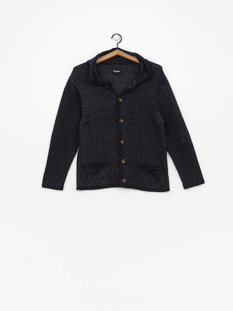 Sweter Brixton Powell Cardigan (navy/grey)