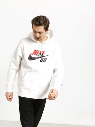 Bluza z kapturem Nike SB Sb Icon Nba HD (white/university red)
